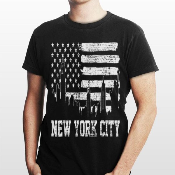 New York City American Flag shirt