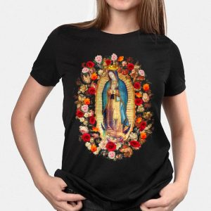 Our Lady of Guadalupe Virgin Mary Catholic shirt