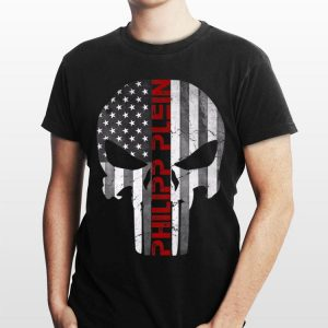Philipp Plein Skull Rhinestones American shirt
