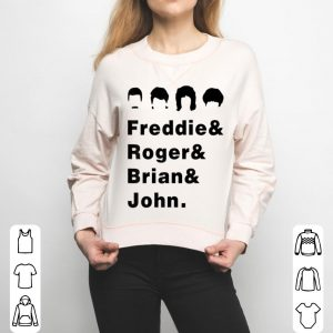 Queen Freddie Roger Brian And John shirt
