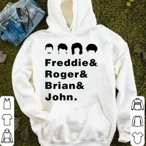 Queen Freddie Roger Brian And John shirt