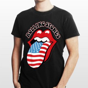 Rolling Stones US Flag Tongue shirt