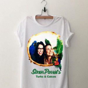 Senor Parrot's Turks And Caicos shirt
