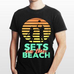 Sets On The Beach Vintgage shirt