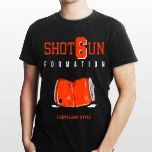 Shot6un Formation Cleveland Style shirt