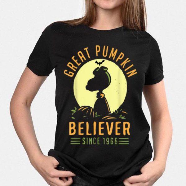 Snoopy Great Pumpkin Halloween Believer Since 1966 shirt