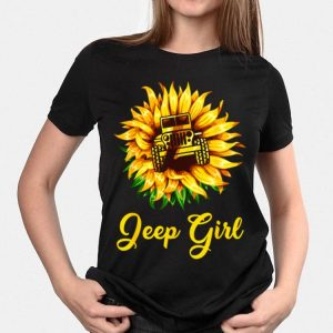 Sunflower Jeep Girl shirt