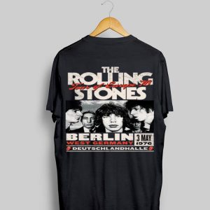 The Rolling Stones Tour Of Europe 76 Berlin shirt
