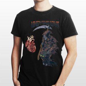 Undying Love Grim Reaper Heart shirt