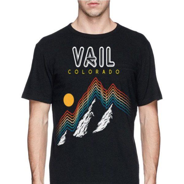 Vail Colorado USA Ski Resort 1980s shirt