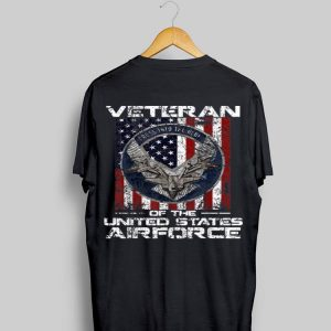 Veteran Of The United States Airforce American Flag shirt