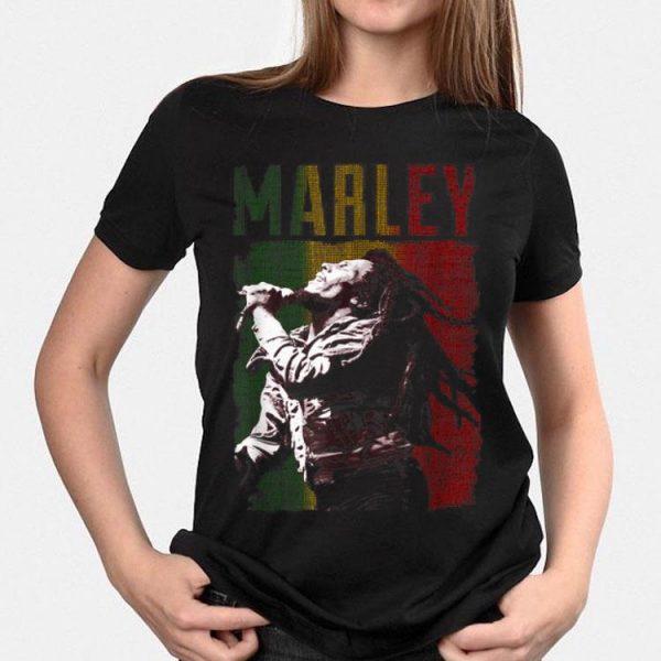 Vintage Marley Rasta Bob Reggae shirt