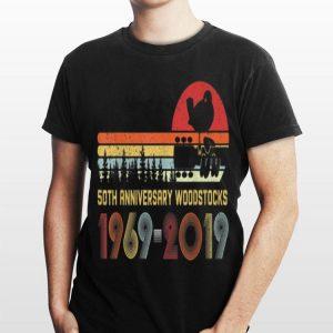 Vintage Woodstocks 50th Anniversary Peace Love Vintage shirt