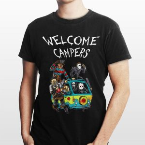 Welcome Campers Horror Movie shirt