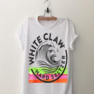 White Claw Drinking Beer Hard Seltzer shirt