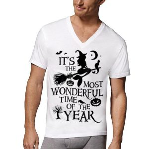 Witch It's The Most Wonderful Time of The Year Halloween shirt