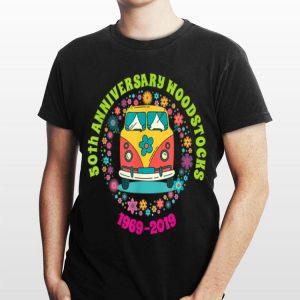 Woodstocks 50th Anniversary Peace Bus 1969 2019 shirt