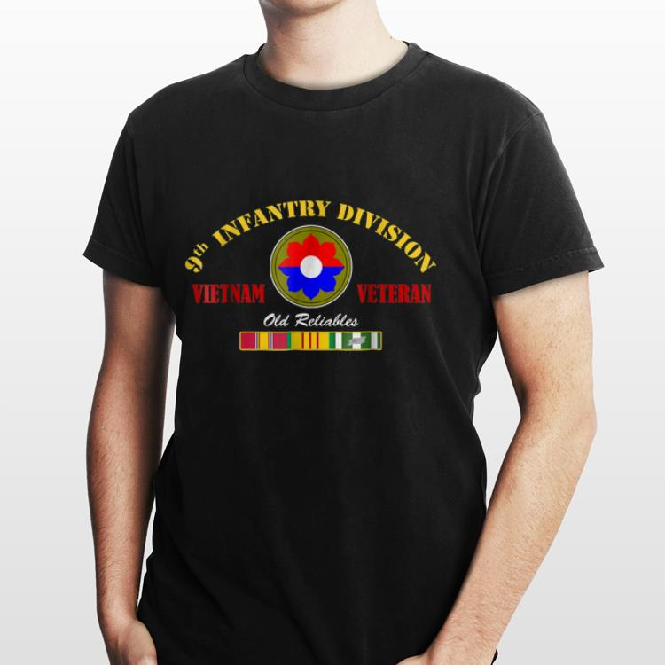 2 2 - 9th Infantry Division Vietnam Veteran Old Reliables shirt