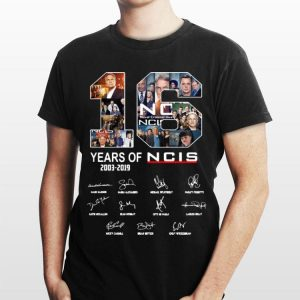 2003 2019 Signatures 16 Years Of NCIS shirt