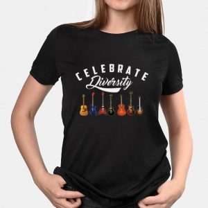 Celebrate Diversity Acoustic Guitar shirt