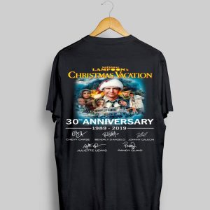 30th Anniversary Signatures National Lampoon's Christmas Vacation shirt