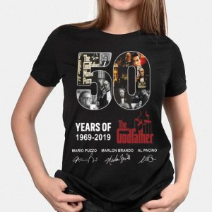 50 Years Of The Godfather 1969-2019 Signatures shirt
