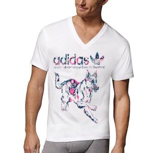 Adidas All Day I Dream About German Shepherd shirt