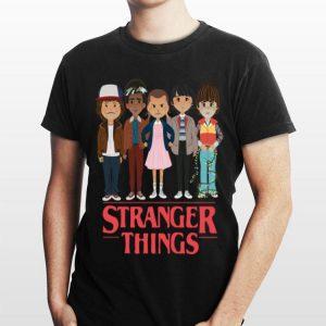 Angry Cartoon Face Characters Stranger Things shirt