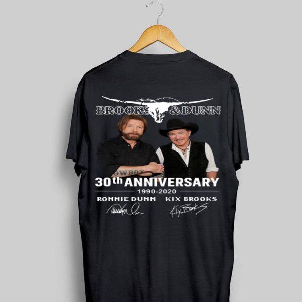 Brooks & Dunn 30th Anniversary 1990-2020 Ronnie Dunn Signatures shirt