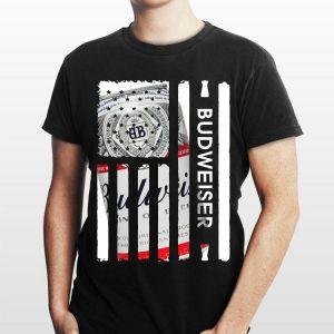 Budweiser American flag shirt