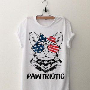 Cat American Flag Pawtriotic shirt