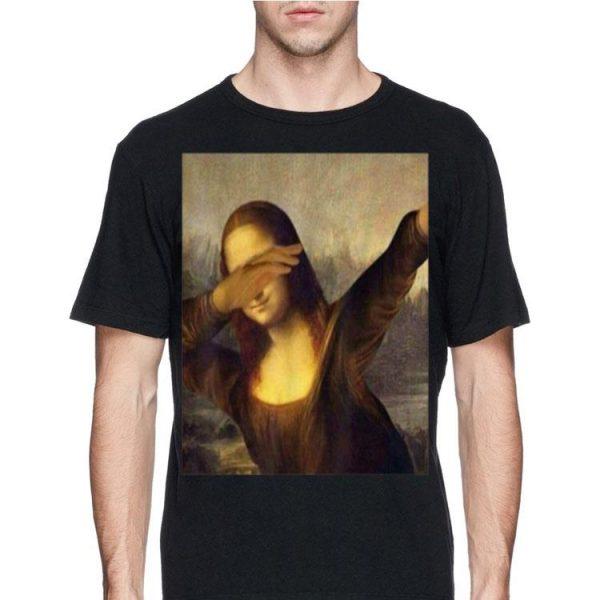 Dabbing Mona Lisa La Gioconda Chrissy Insta shirt