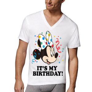 Disney Minnie Mouse It's My Birthday shirt