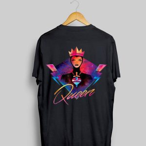Disney Villains Evil Queen Neon 90s Rock Band shirt