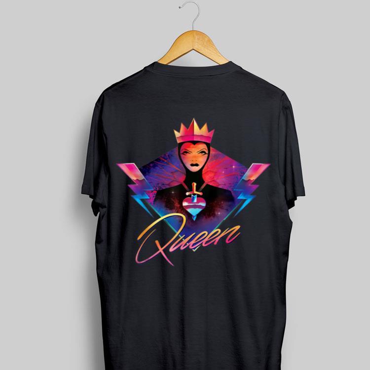 Disney Villains Evil Queen Neon 90s Rock Band shirt ...Disney Evil Queen Shirt