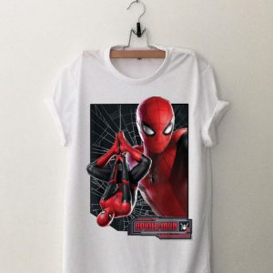 Far From Home Web Frame Marvel Spider-Man shirt