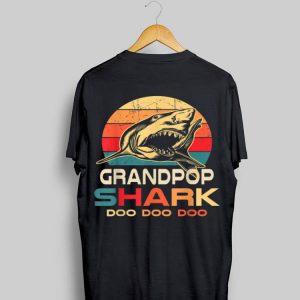 Grandpop Shark Doo Doo Doo Vintage shirt