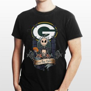 Halloween Green Bay Packer Jack Skellington shirt