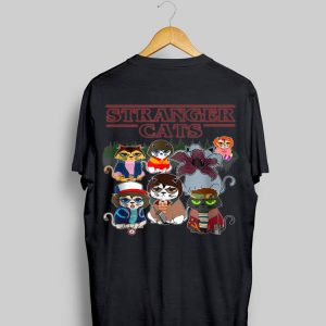 Halloween Stranger Cats Things shirt