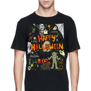 Happy Halloween Scary Retro shirt