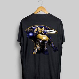 Iron Man Baltimore Ravens shirt