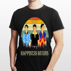 Jonas Brothers Happiness Begins Vintage shirt