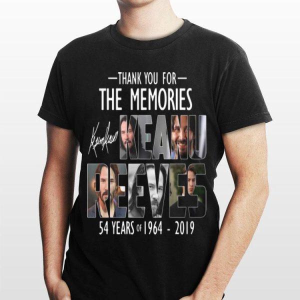 Keanu Reeves 54 Years 1964-2019 Signature shirt