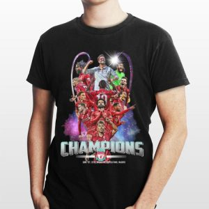 Liverpool FC Champions Cup 2019 shirt