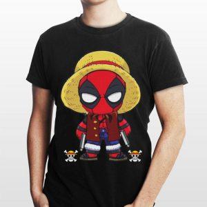 Luffy One Piece Deadpool shirt