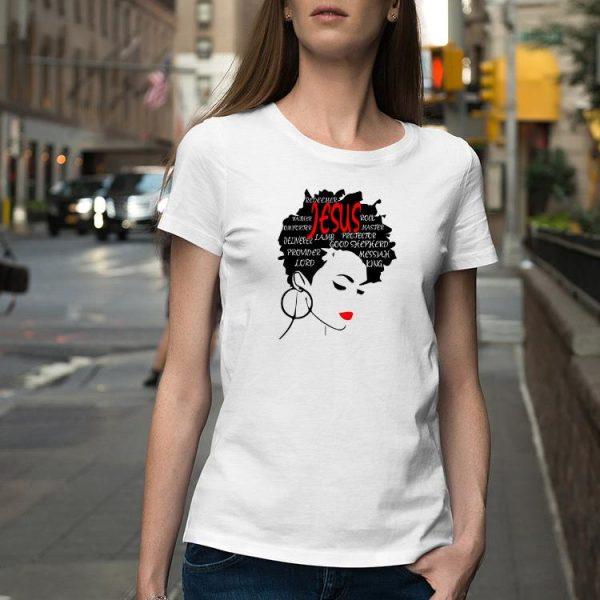 Word Art Hair Christian Fashion shirt