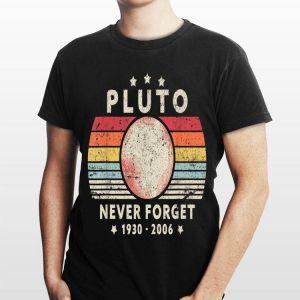 Never Forget Pluto 1930 2006 Vintage shirt