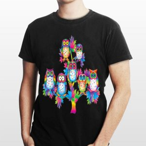 Owls tree LGBT shirt