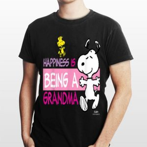 Peanuts Snoopy Happiness is Being a Grandma shirt