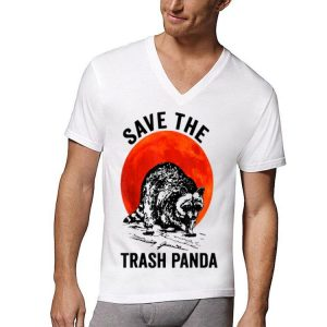 Save The Trash Panda Sunset Racccon shirt